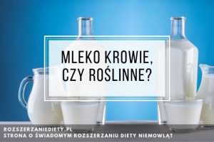 mleko roślinne dla niemowlaka