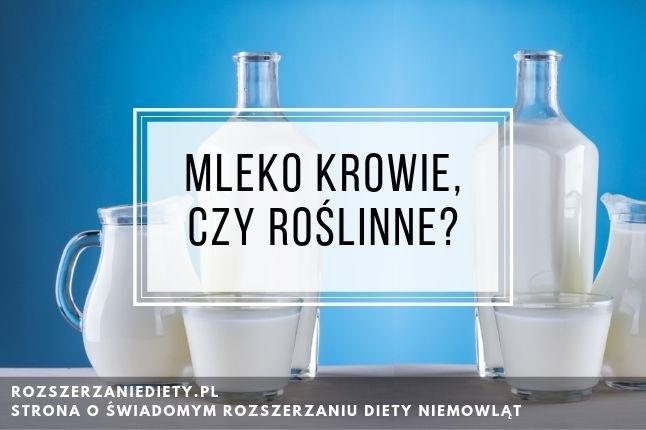 Mleko roślinne dla niemowlaka? Na jakim mleku przygotowywać kaszki?