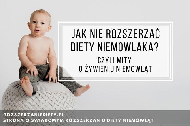 mity o żywieniu niemowląt