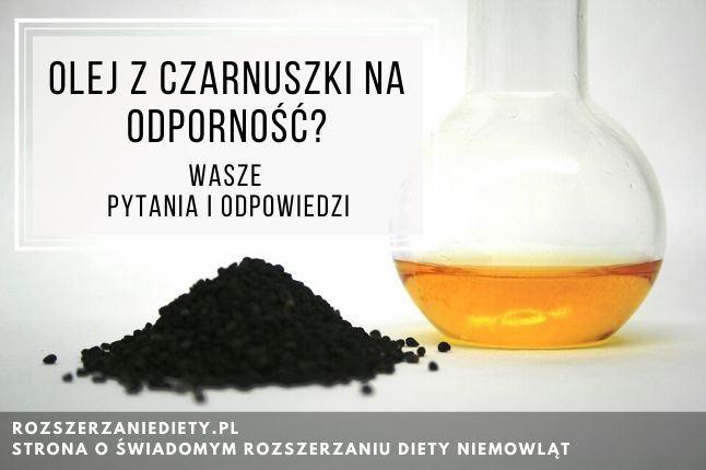 olej z czarnuszki na odporność