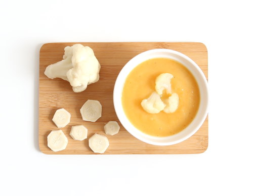 Zupa krem kalafiorowo-pietruszkowy