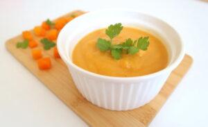 zupa dyniowa dla niemowlaka