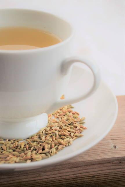 Herbata z kopru dla niemowlaka na kolki