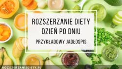 Rozszerzanie diety dzień po dniu