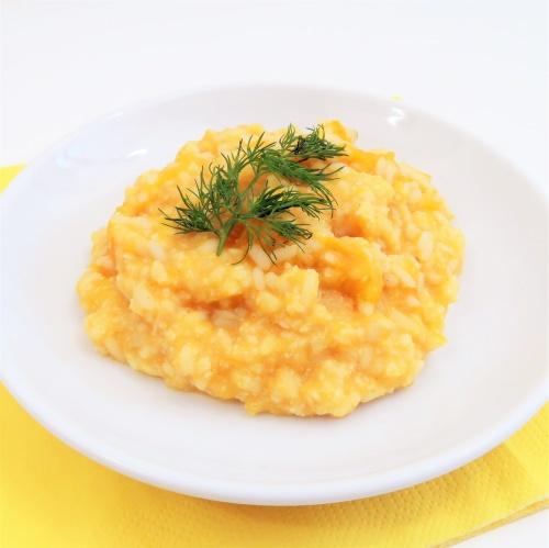 Kurczak z dynią i ryżem