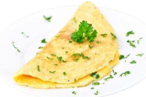 omlet dla niemowlaka blw
