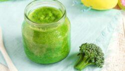 Pierwsze posiłki dla niemowlaka: przecier z brokuła