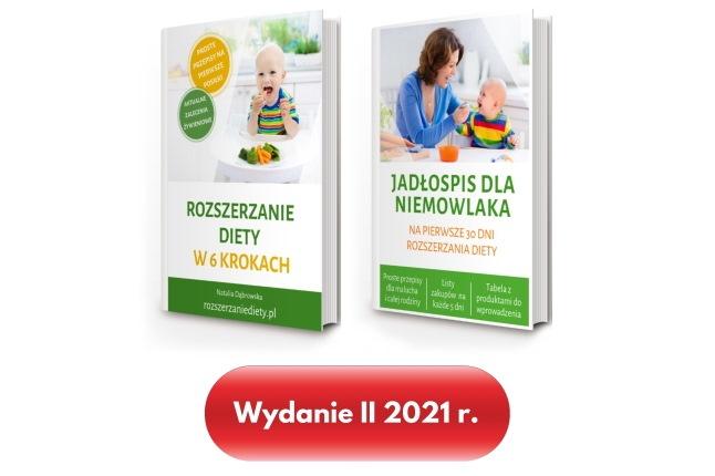 rozszerzanie diety książki 2021