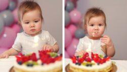 Tort na roczek (bez cukru)