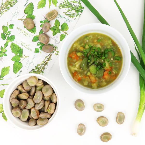 zupa z bobu przepis