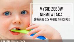 Pasta do zębów dla niemowląt - pierwsza pasta do zębów z fluorem, czy bez?