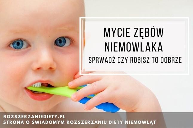 Pasta do zębów dla niemowląt